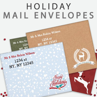 Holiday Mailing Envelopes