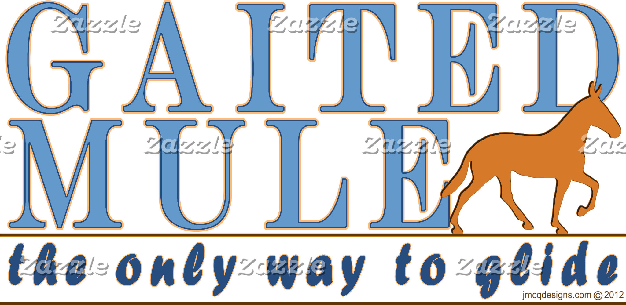 Gaited Mule