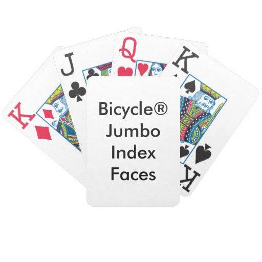 Bicycle® Jumbo Index