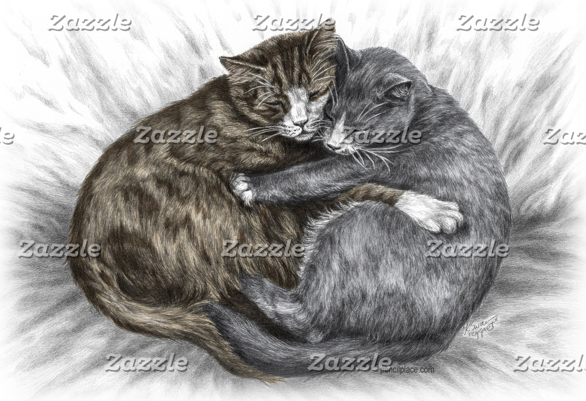 Cat Lover Art