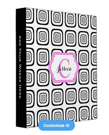 Abstract Design Binders