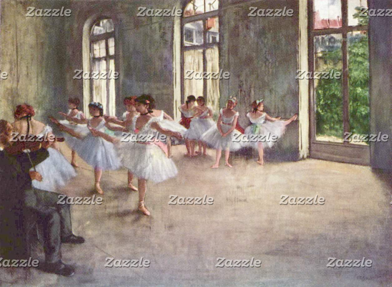 Edgar Degas | The Ballet Rehearsal