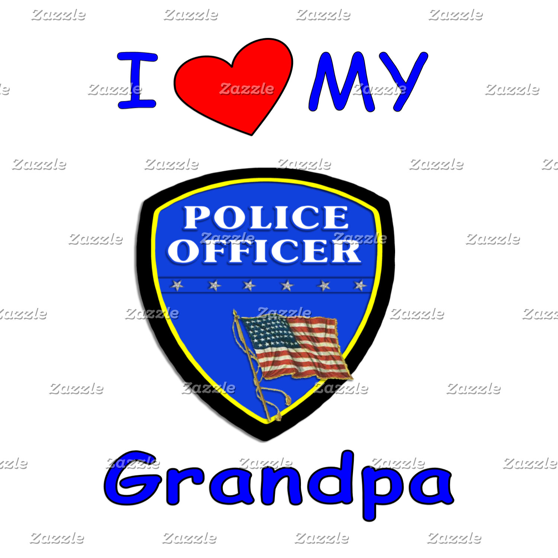 I Love My Police Officer Grandpa