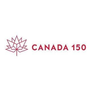 Canada 150 Horizontal Red