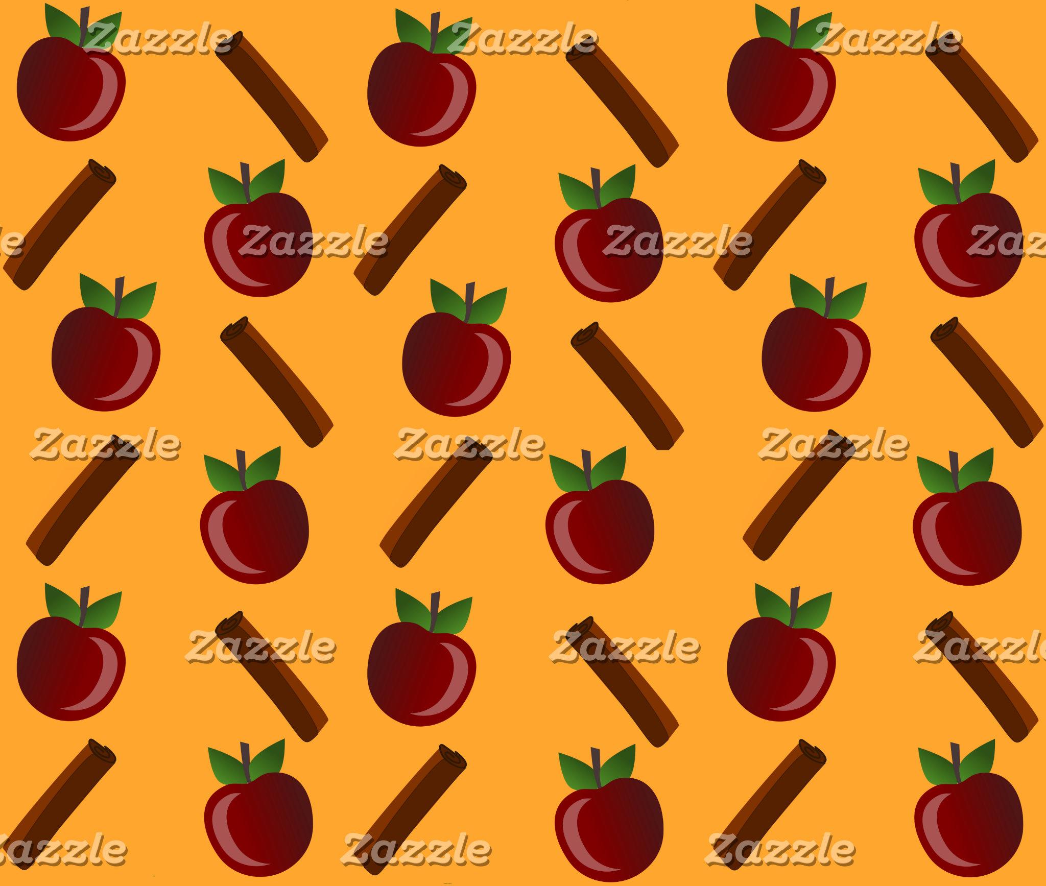 Apple Cinnamon Pattern