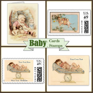 3. BABY BIRTH -Cards-Postage