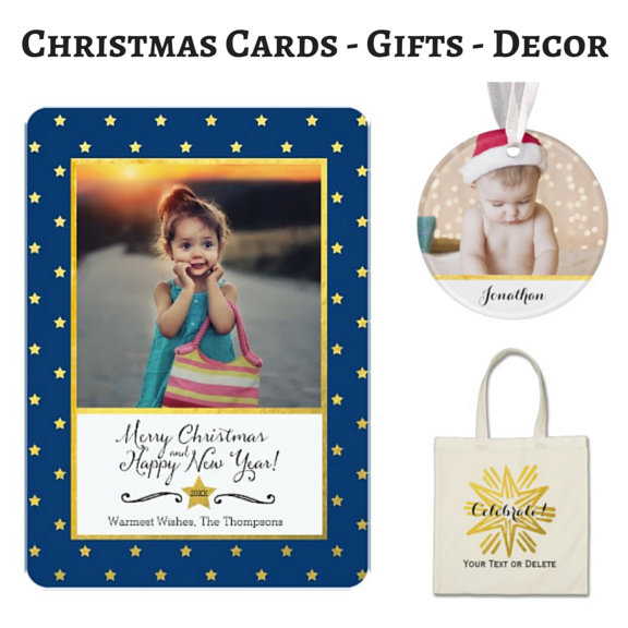 Christmas Cards Gifts Decor