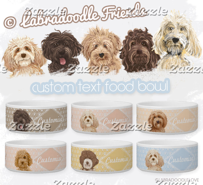 Pet Bowl / ©LabraDoodleFriends™
