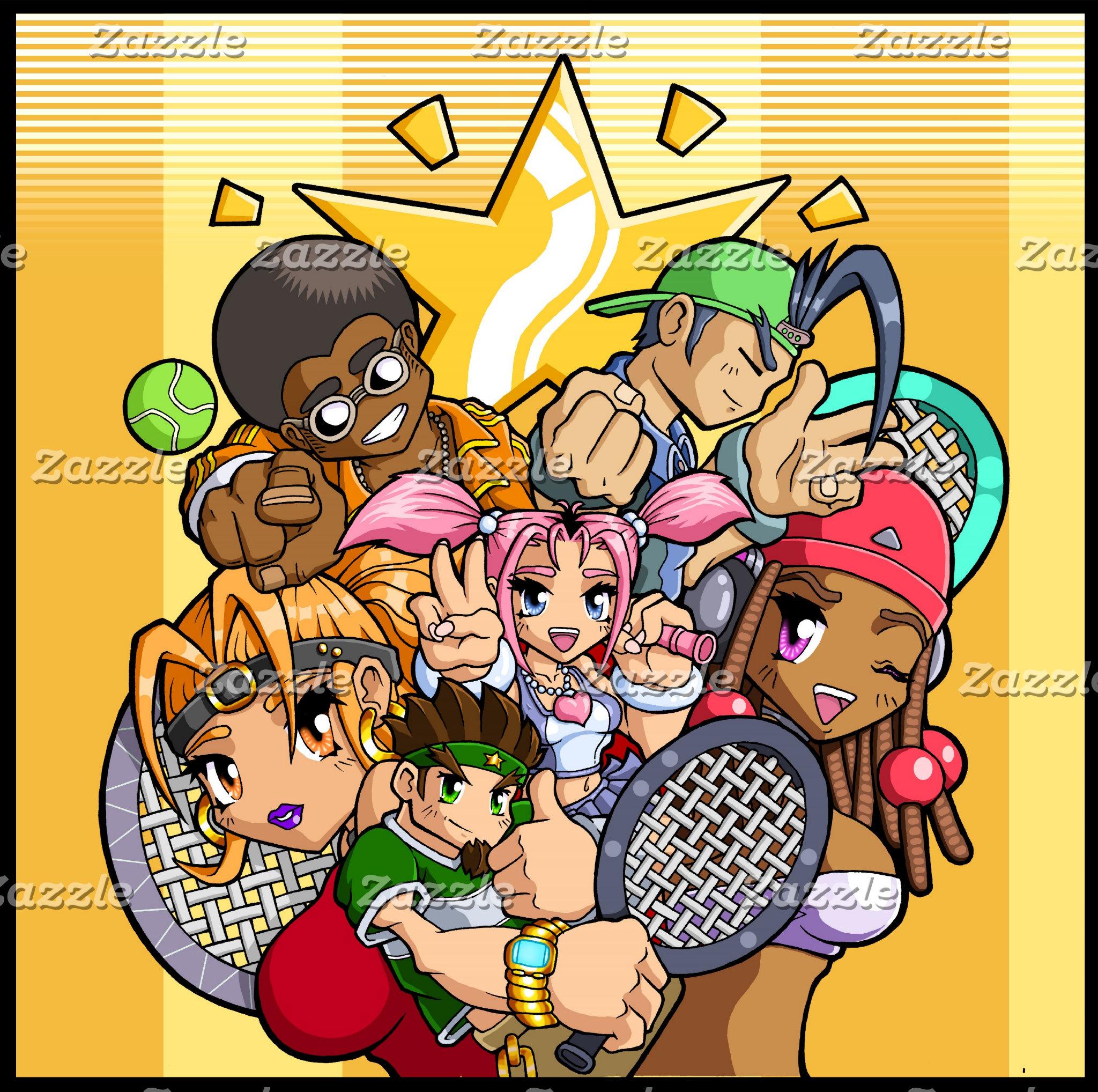 Anime Tennis Characters
