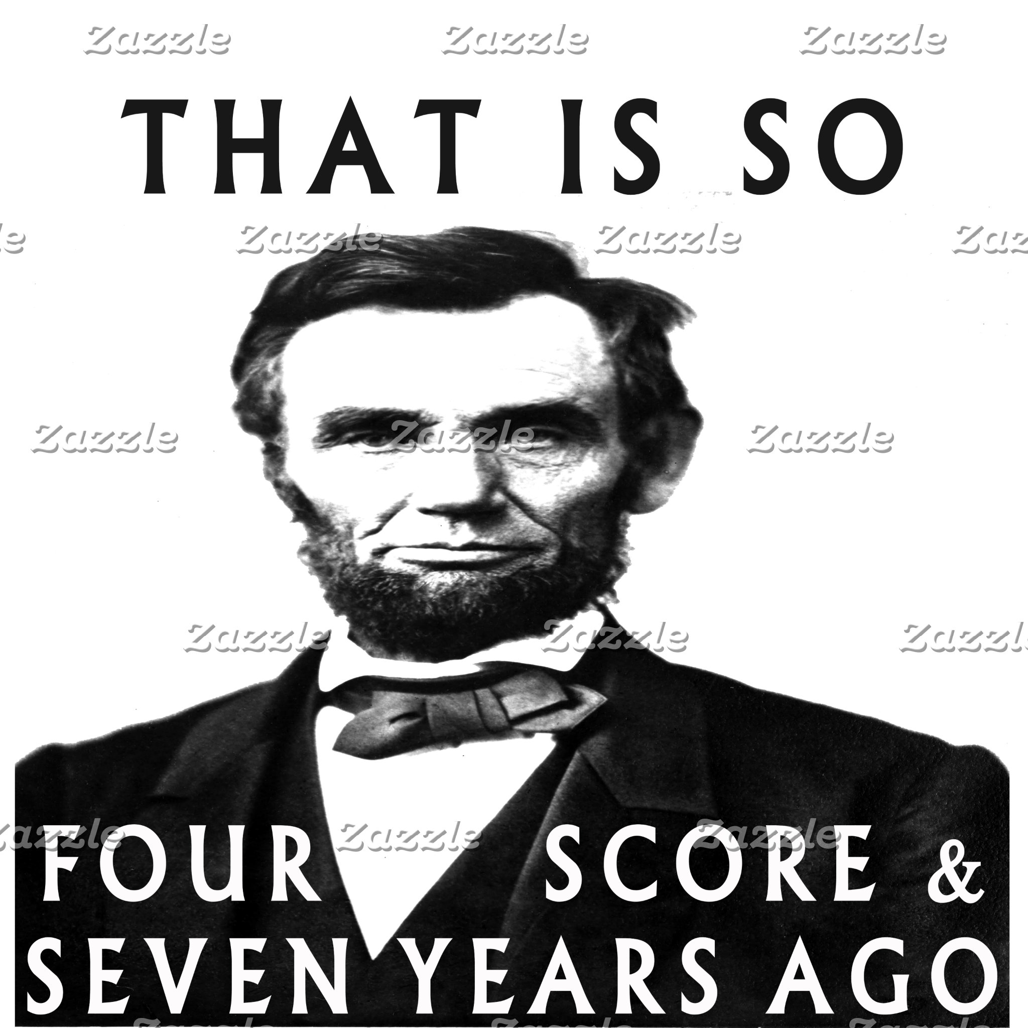 Abe Lincoln - That is so fourscore and seven years