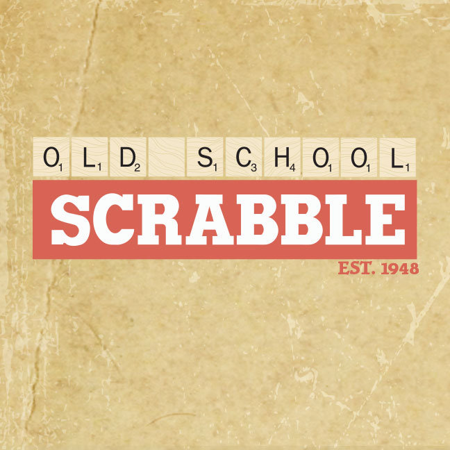 Old School Scrabble