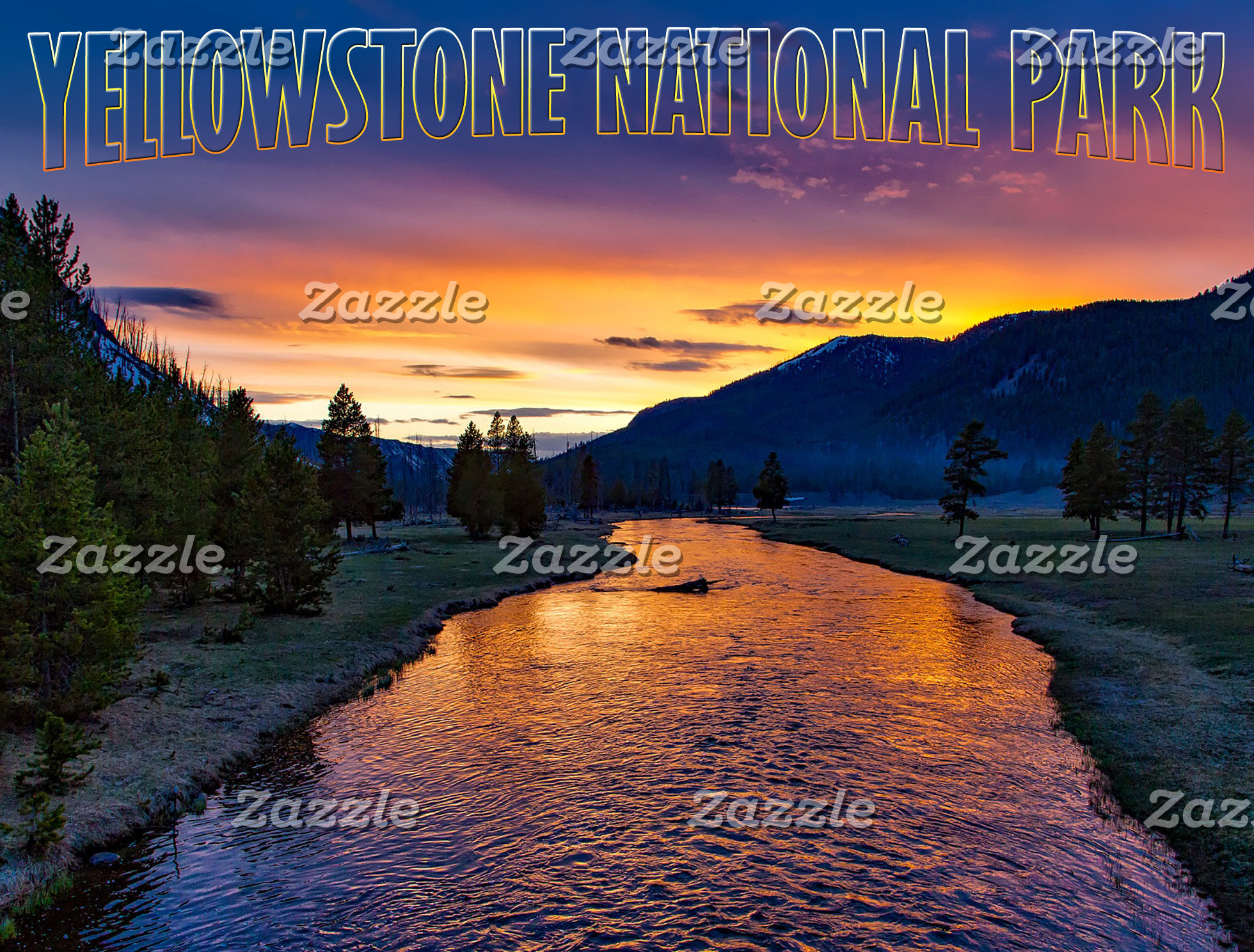 Yellowstone National Par, Wyoming (USA)