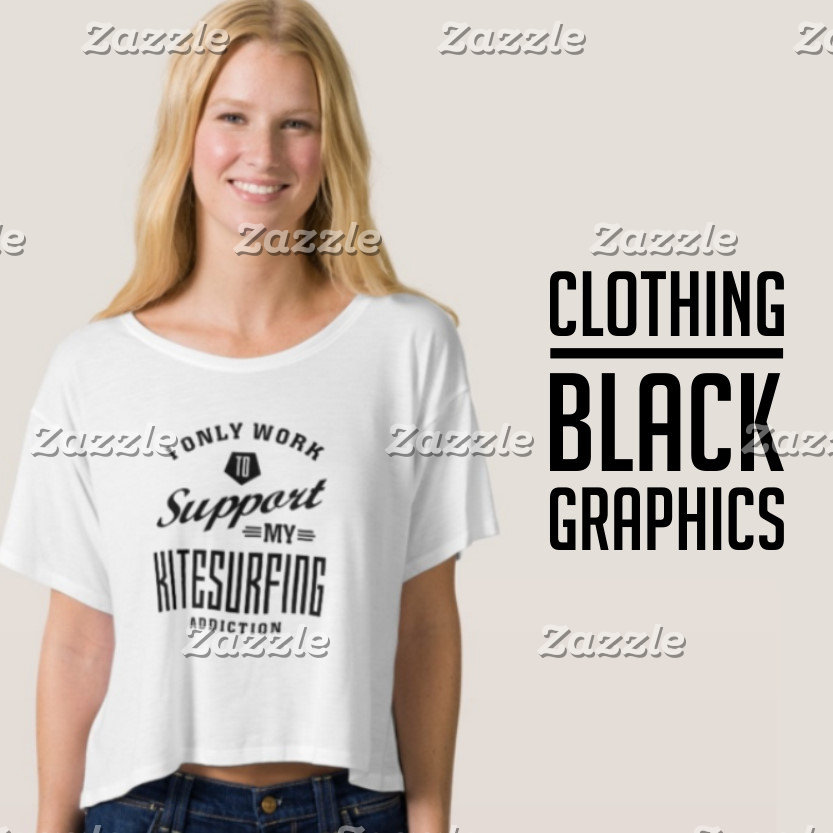 Black Graphic Clothing