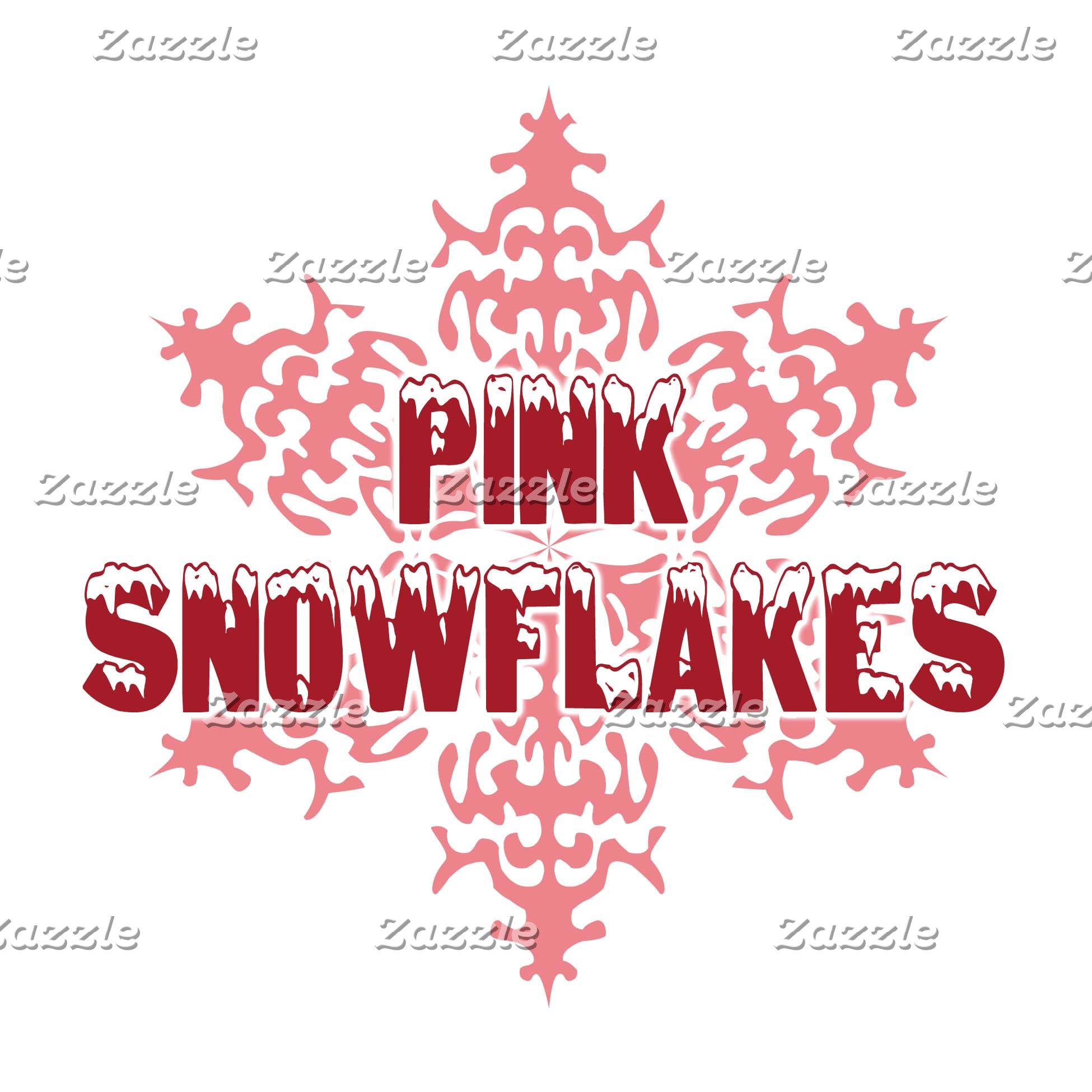 Pink Snowflakes