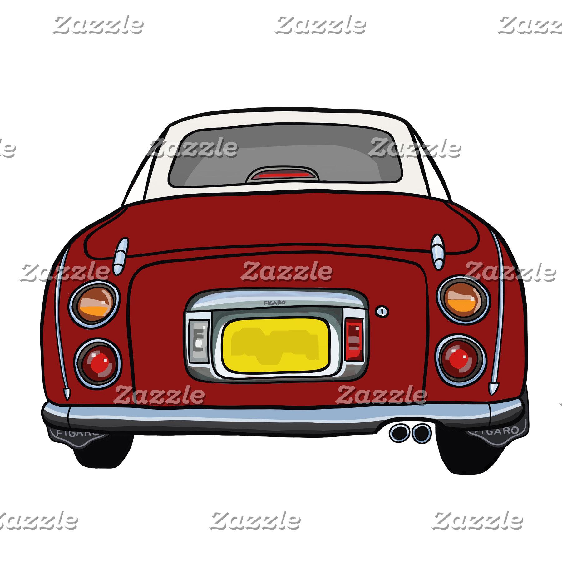 Red Figaro Car