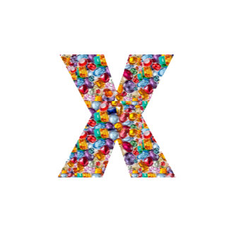100 alphabets ALPHA XXX : Jewels Pearls