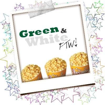 I. Green and White