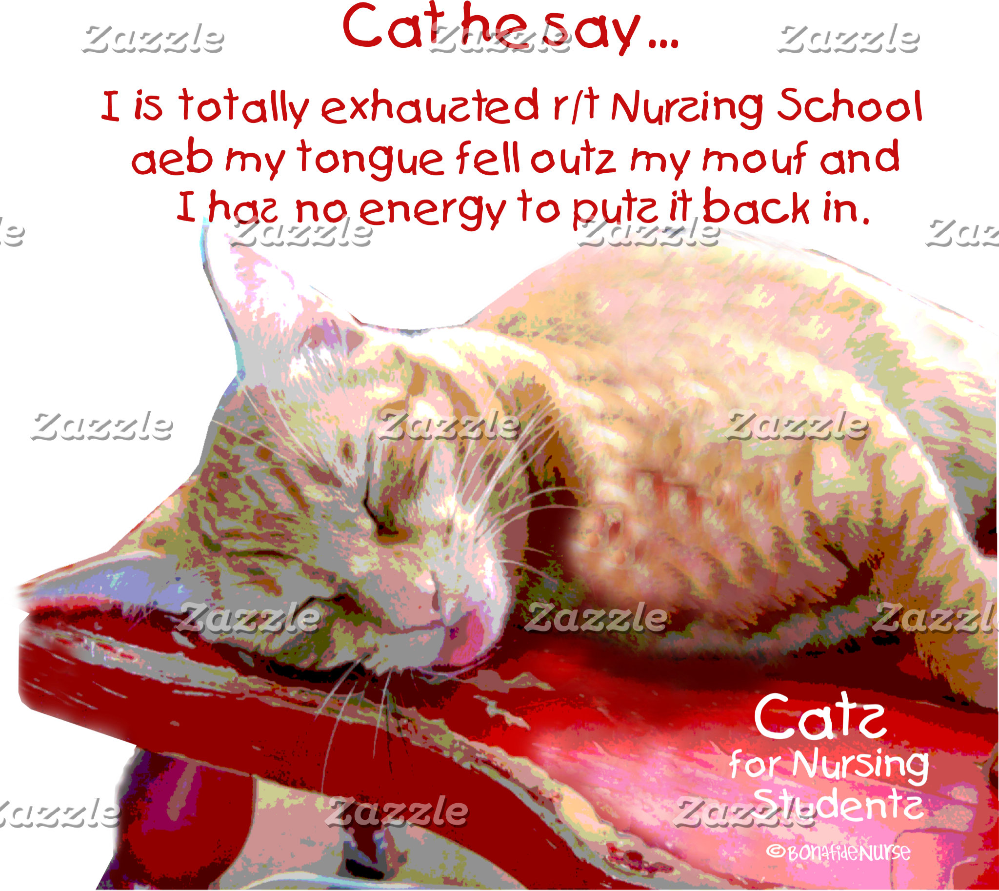Cats for Nursing Students - Exhaustion