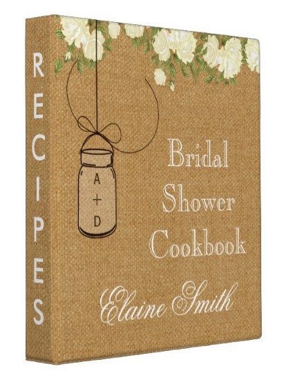 Bridal Shower Recipe Books
