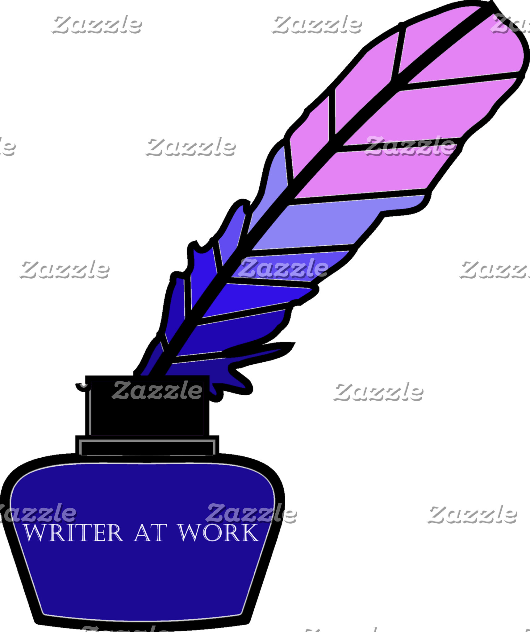 Writer at Work Quill