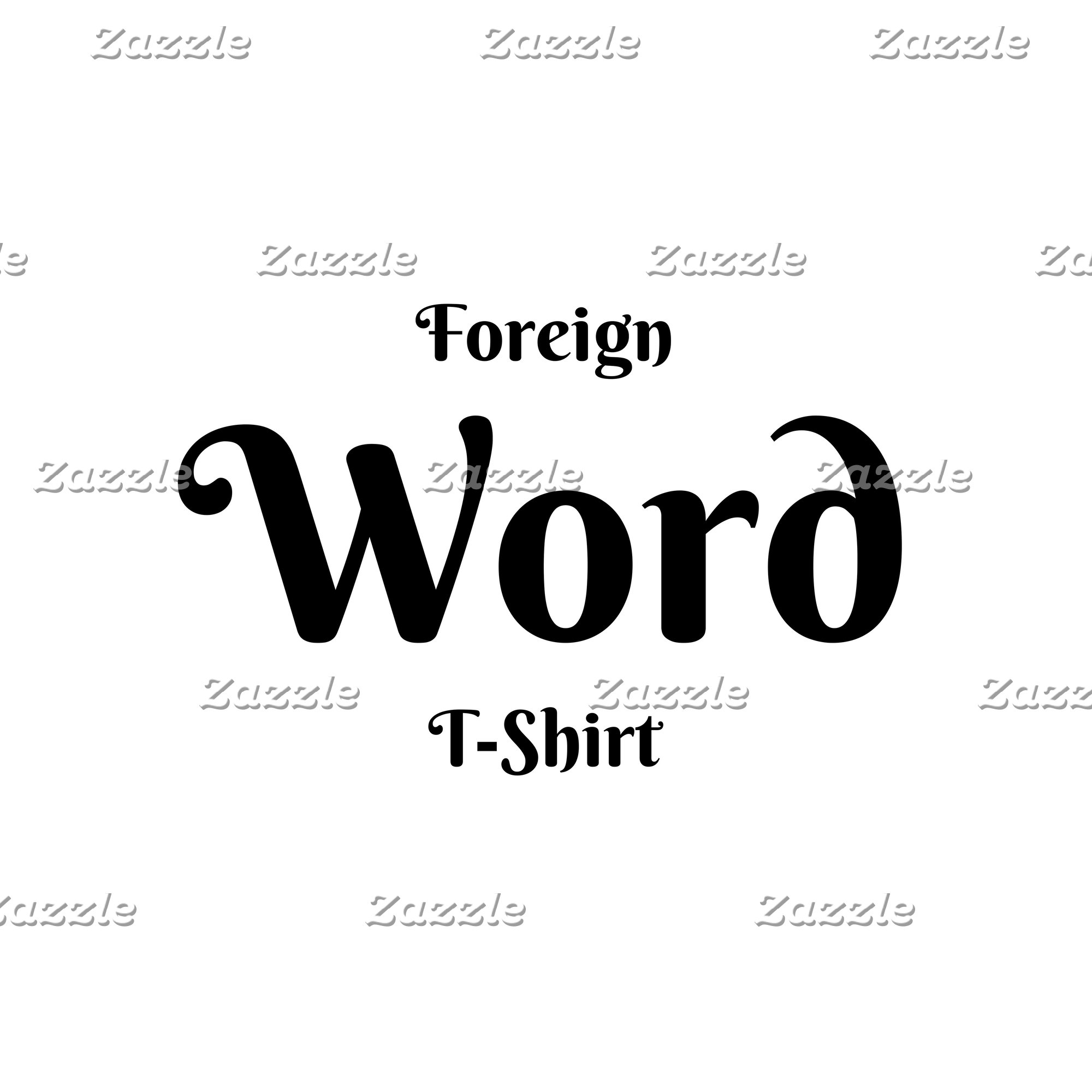 Foreign Word