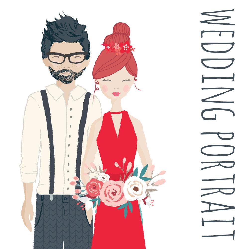 Wedding Portrait Tailor Made