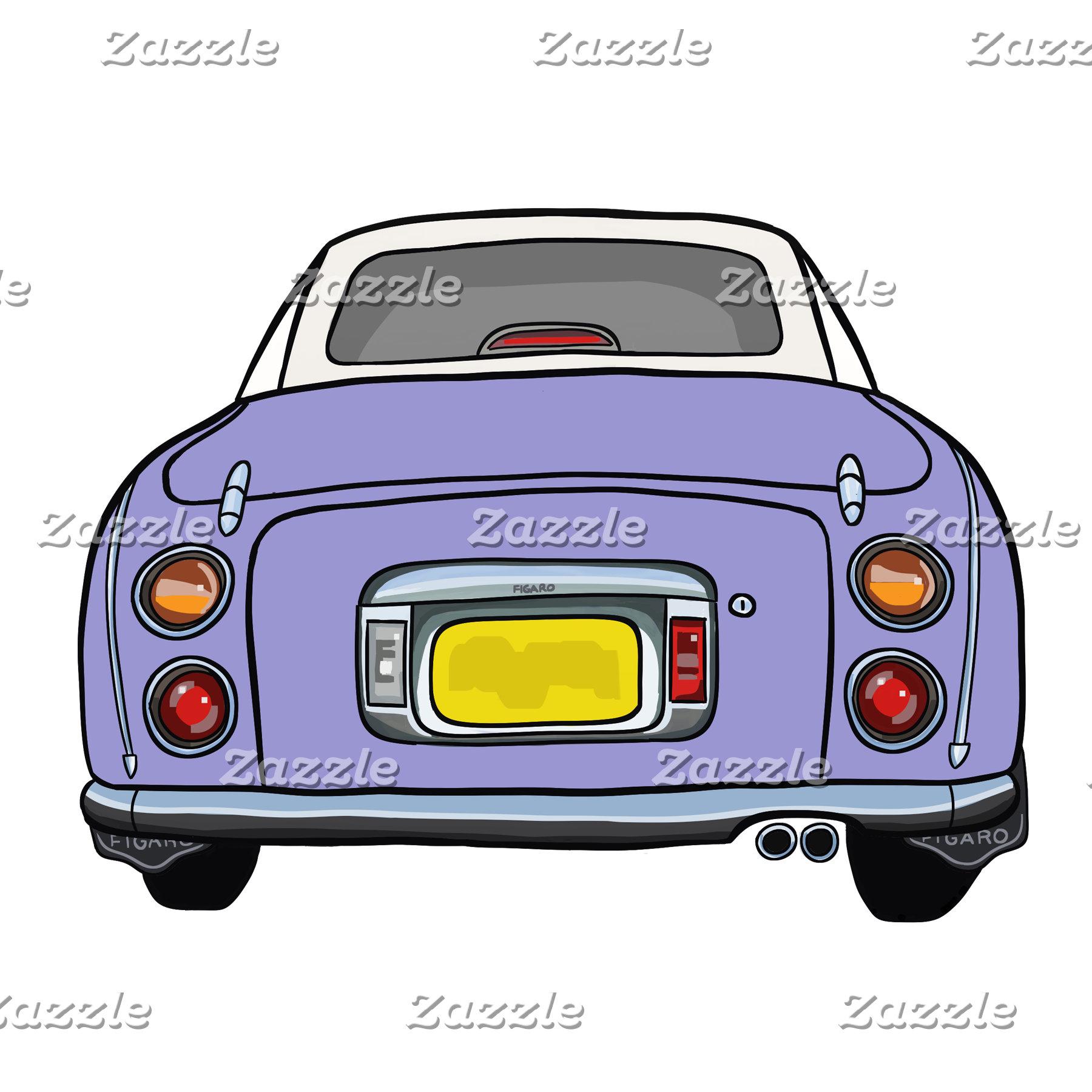 Purple Figaro Cars