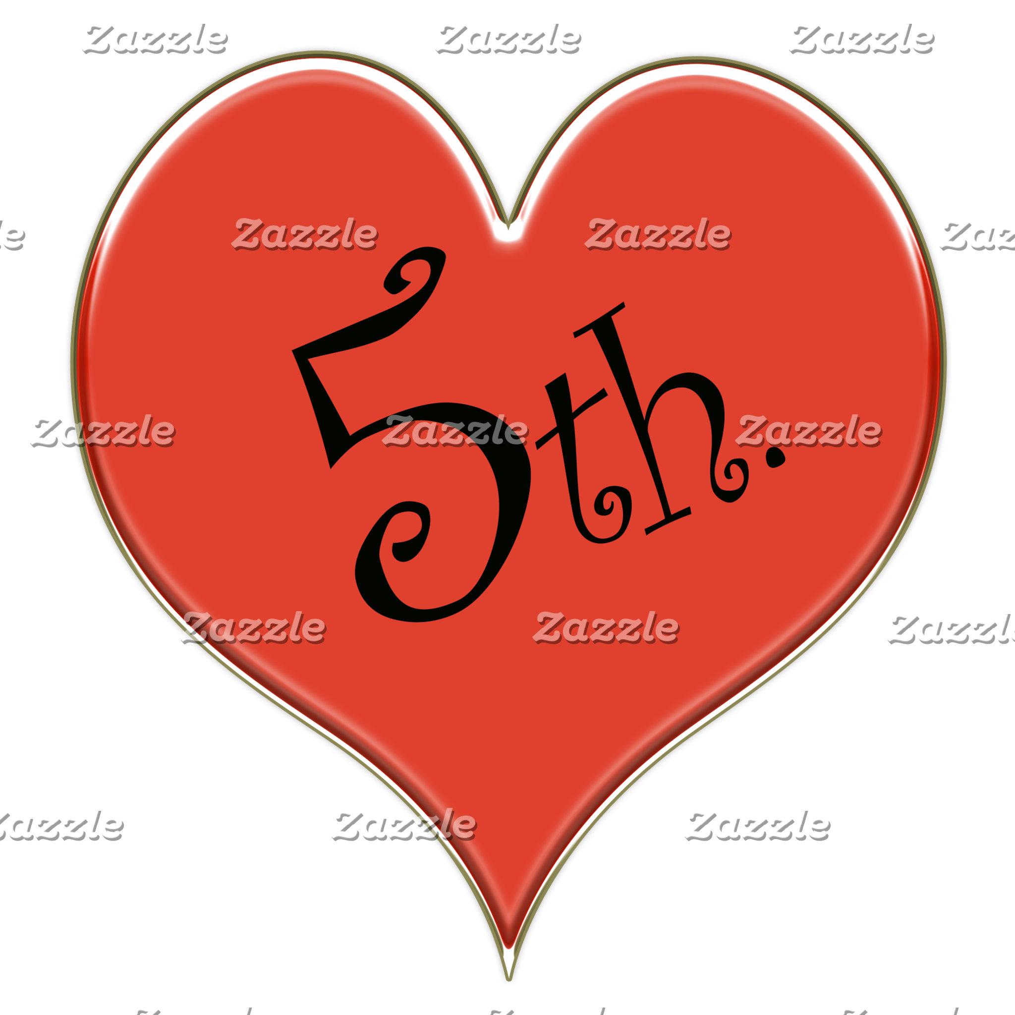 5th. Anniversary