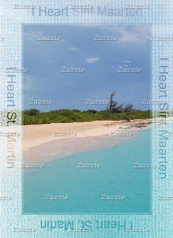 I Heart Sint Maarten - St. Martin Beach Scene