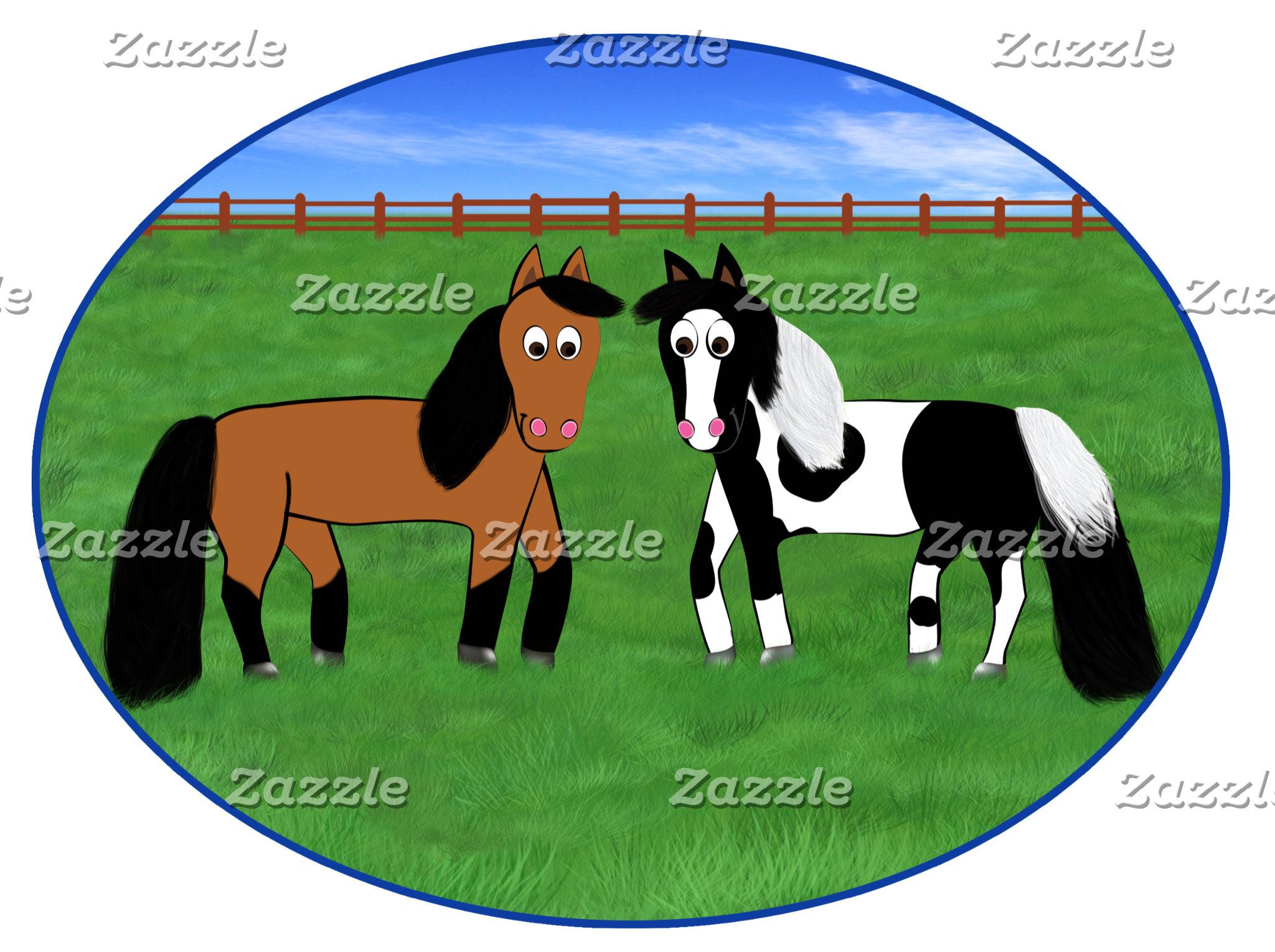 Cute Horses