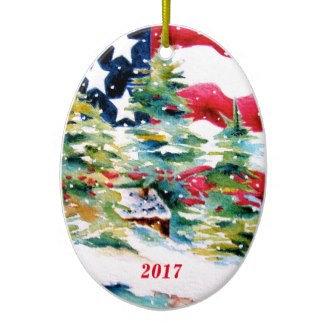 Patriotic Ornaments