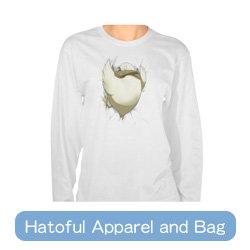 Hatoful Apparel and Bag