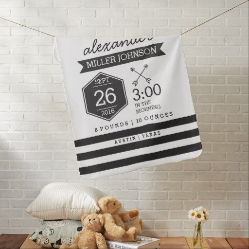 Black and White Nursery or Playroom