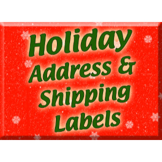 Holiday Address and Shipping Labels