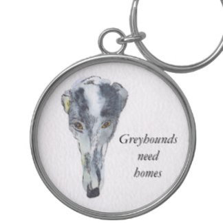 Greyhound key rings