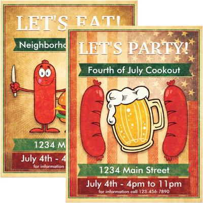 BBQ and Cookout Flyers