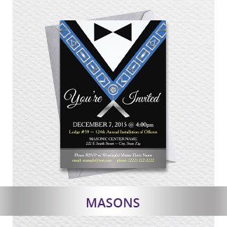 Masonic - Freemason Custom Cards & Gifts