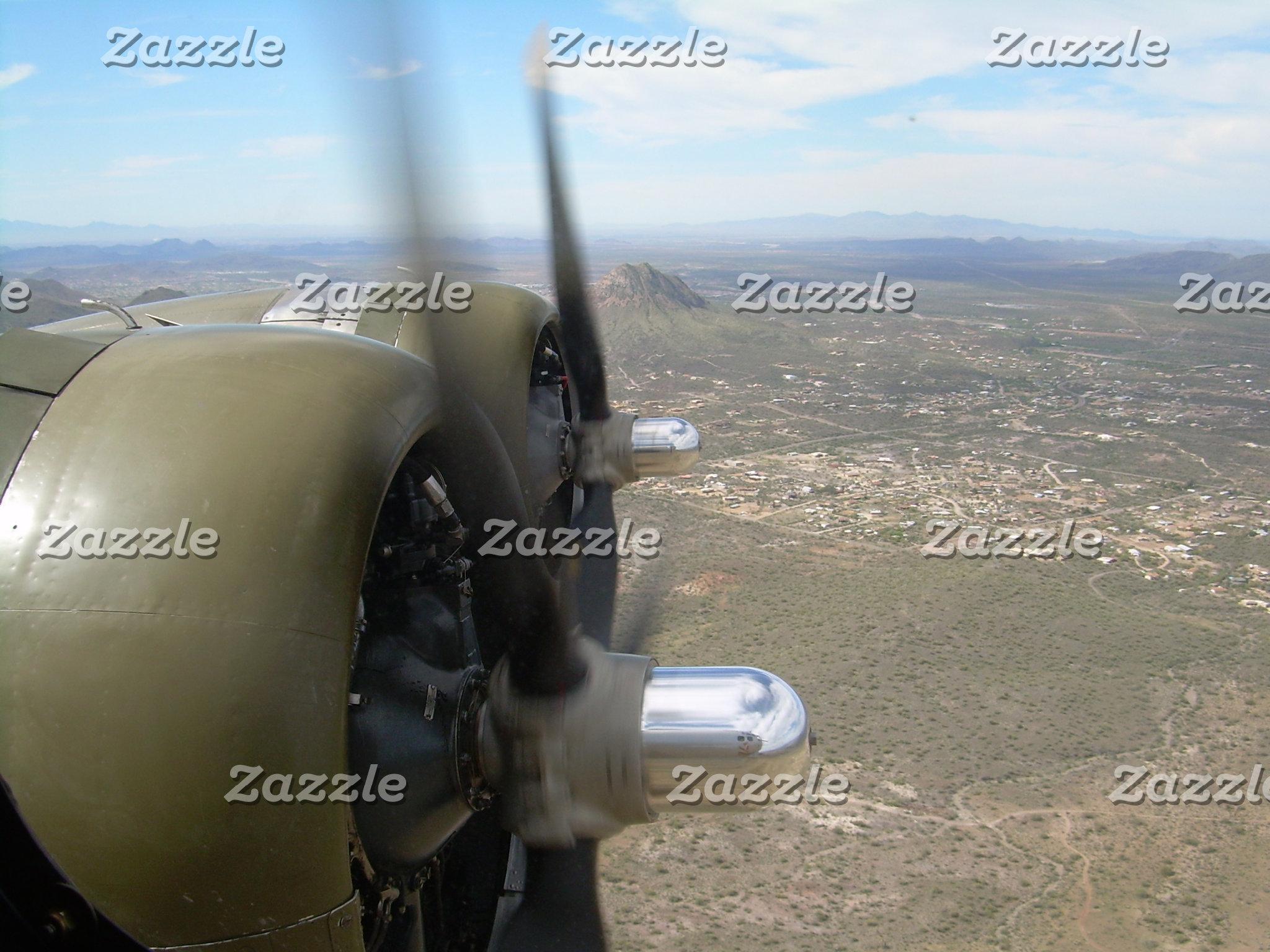 B-17 Bomber Over  AZ