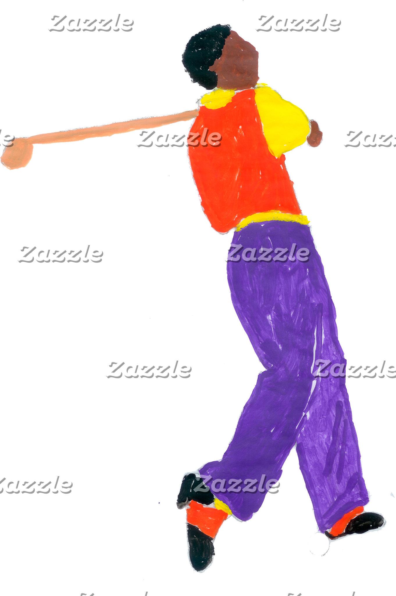 Golfer Man