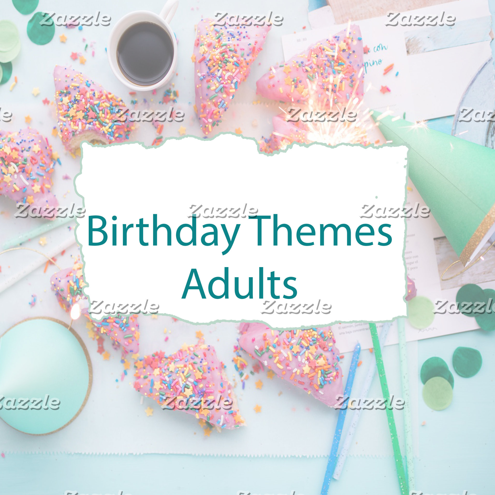 Birthday Themes Adults