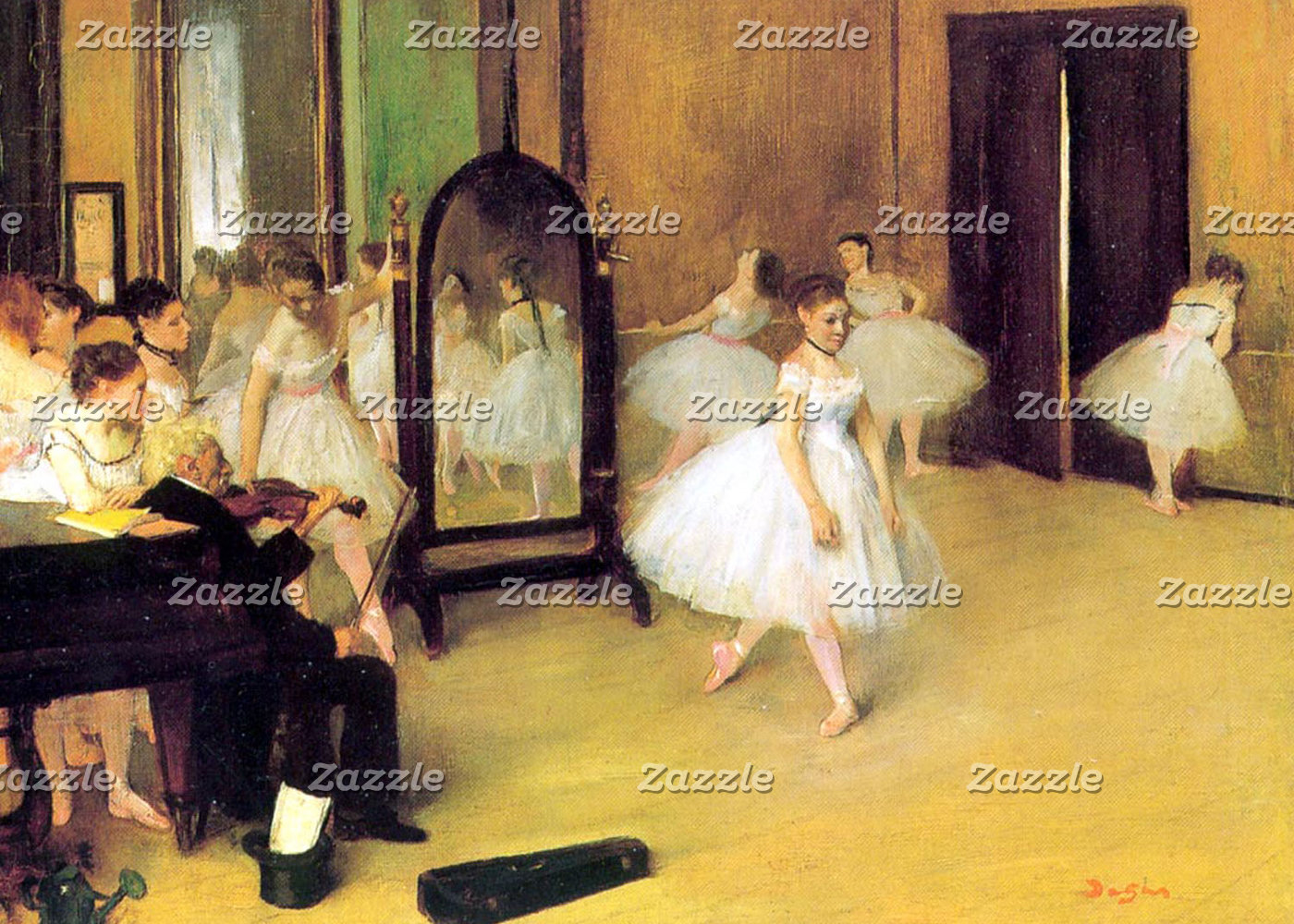 Edgar Degas | The Dancing Class