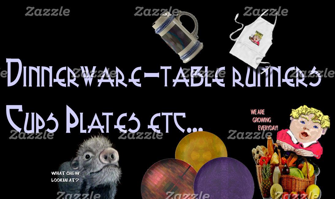 Dinnerware-Cups-Table Runners