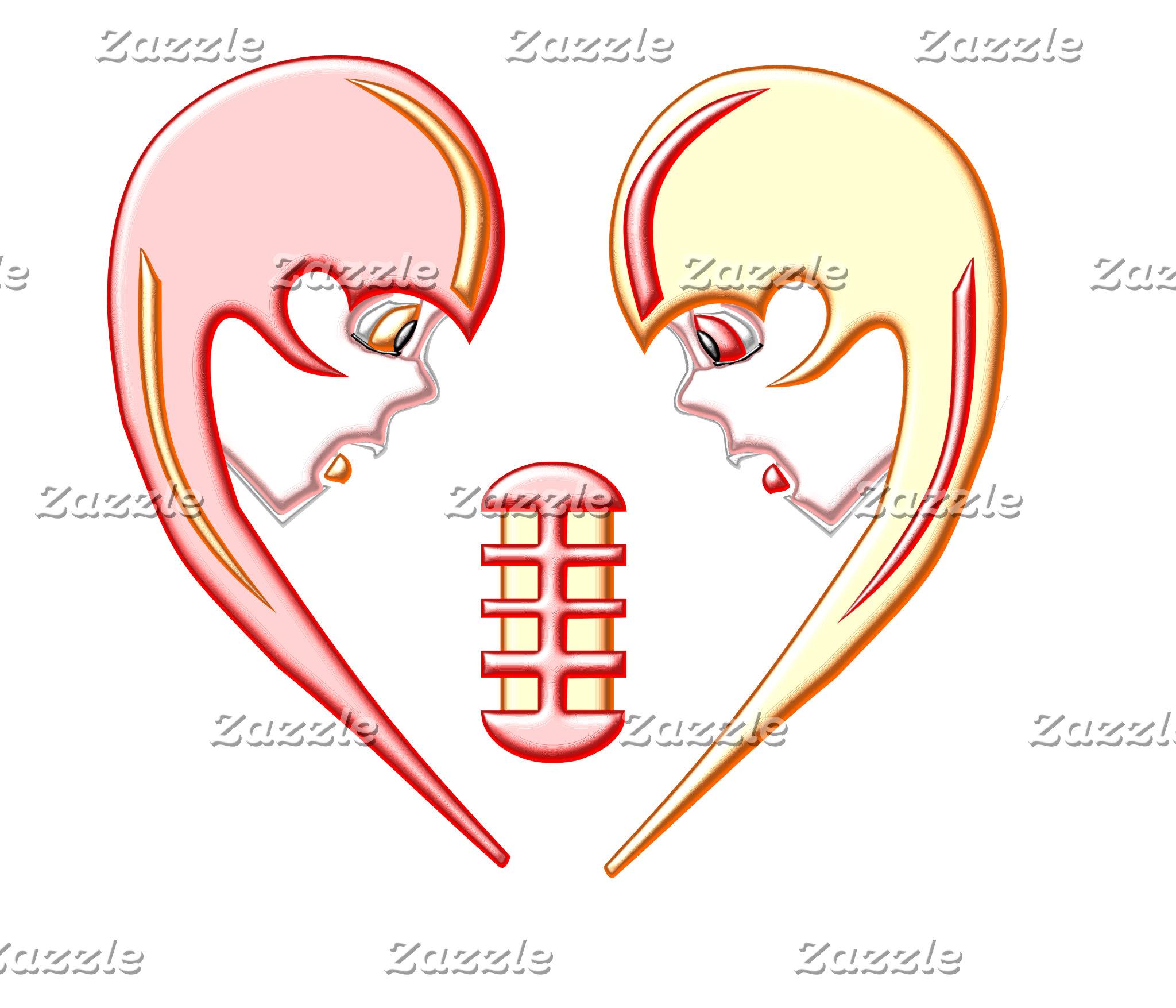 Girly Karaoke Love Heart