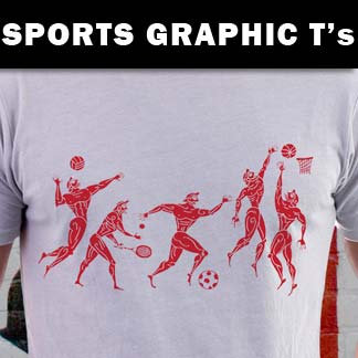 Sports Graphic Tees