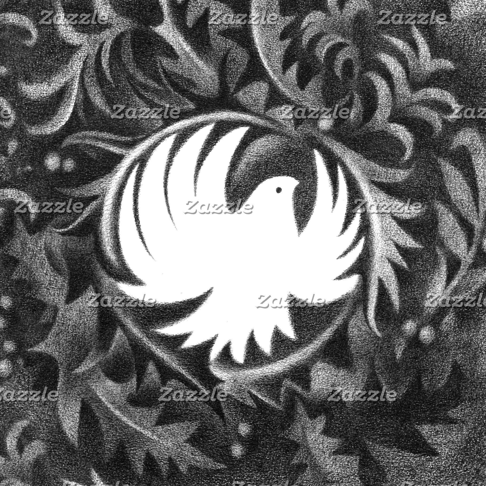 Leaf Dove W.Morris-style