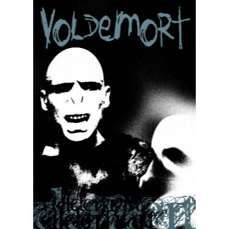 Voldemort Black and White