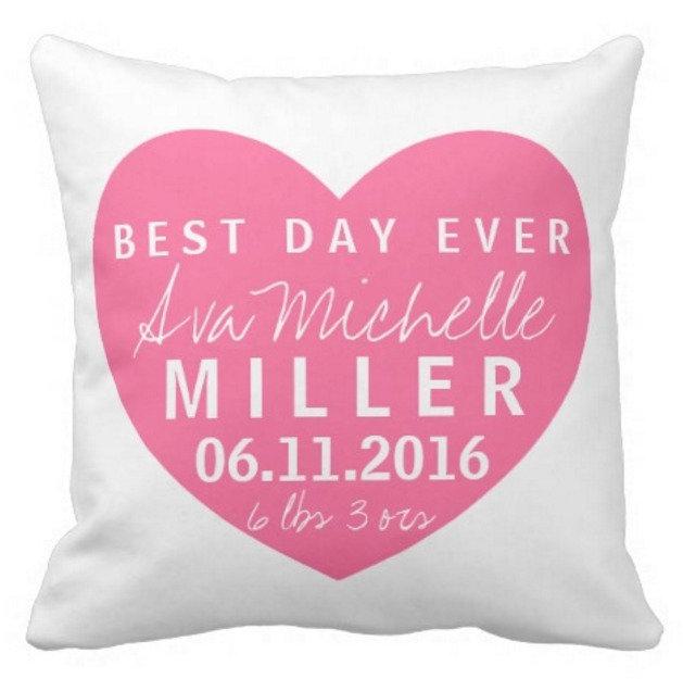 Baby Name Pillows