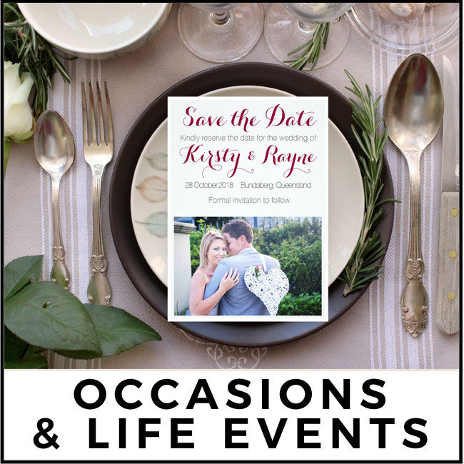 OCCASIONS & LIFE EVENTS