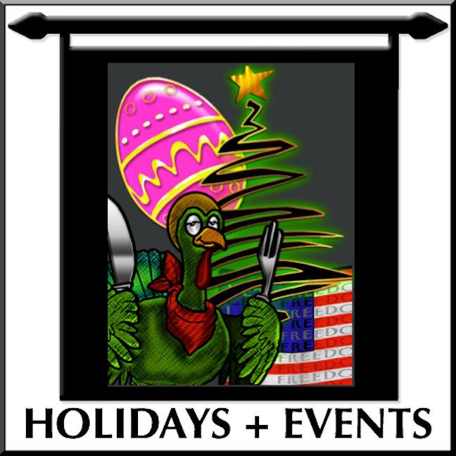4 EVENTS + HOLIDAYS