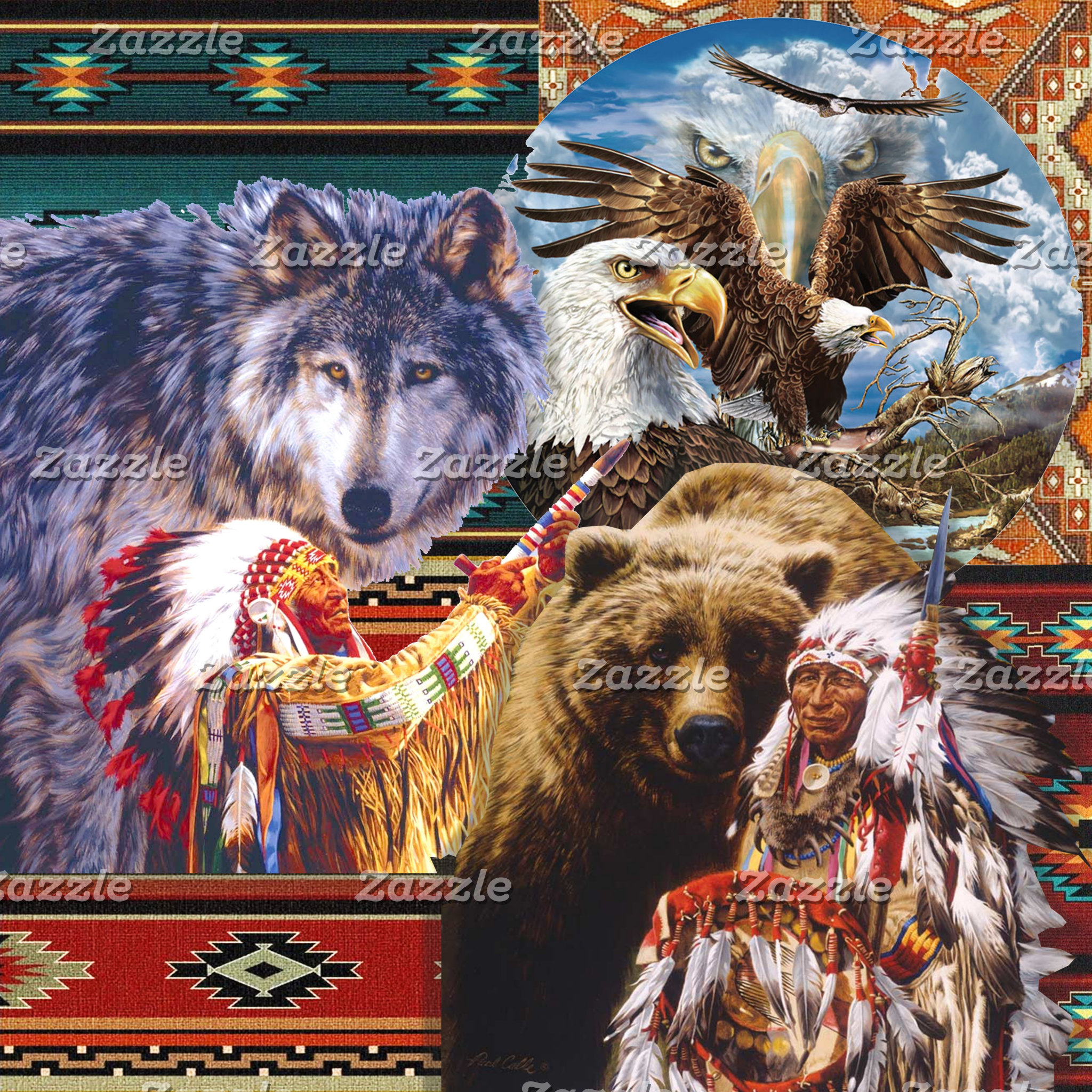 Tribal, Native-American